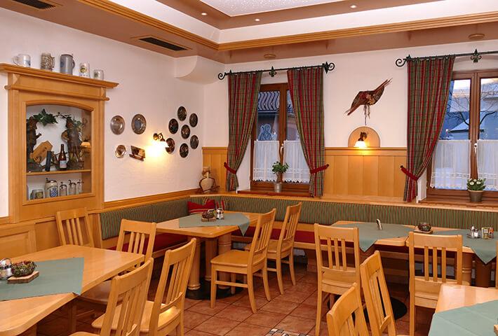 Gaststube im Braugasthof Mascher